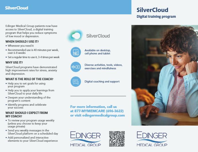 SilverCloud Digital Training